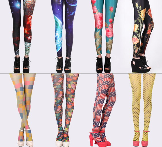 Difference between Leggings and Tights