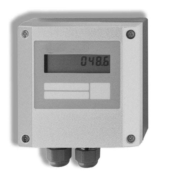 Pressure and Flow gauge