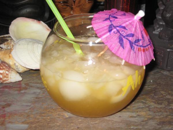 Grapefruit Juice Rum