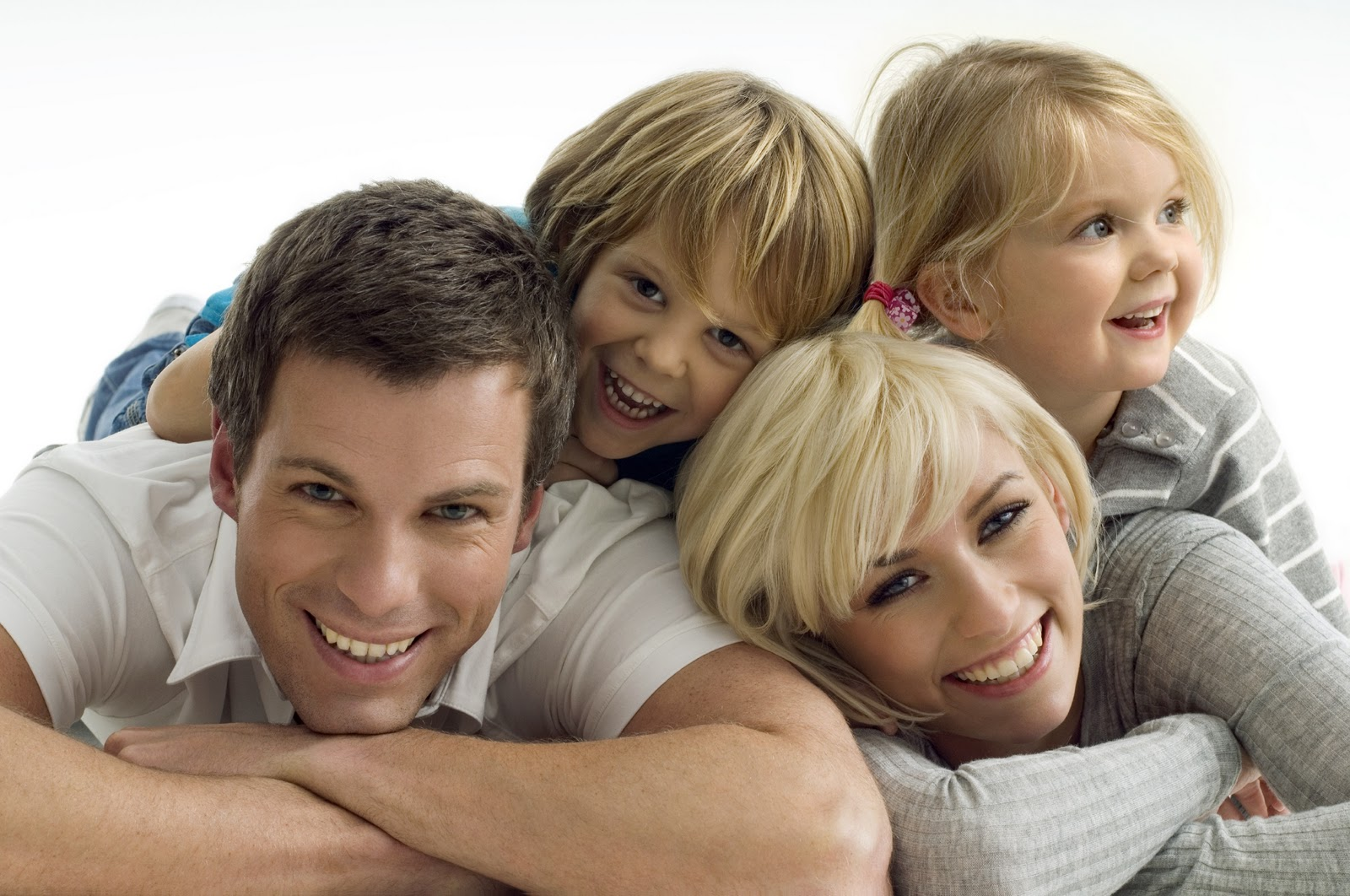 Happy Kids and Parents