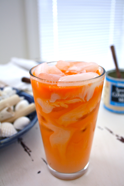 ... How to Make a Delicious Peach Smoothie How To Make Thai Iced Tea