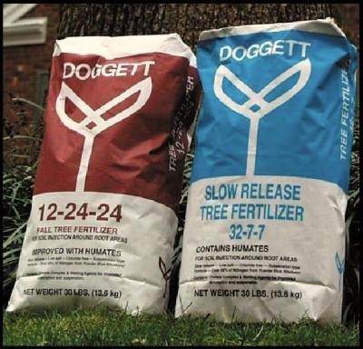 Tree Fertilizers bags