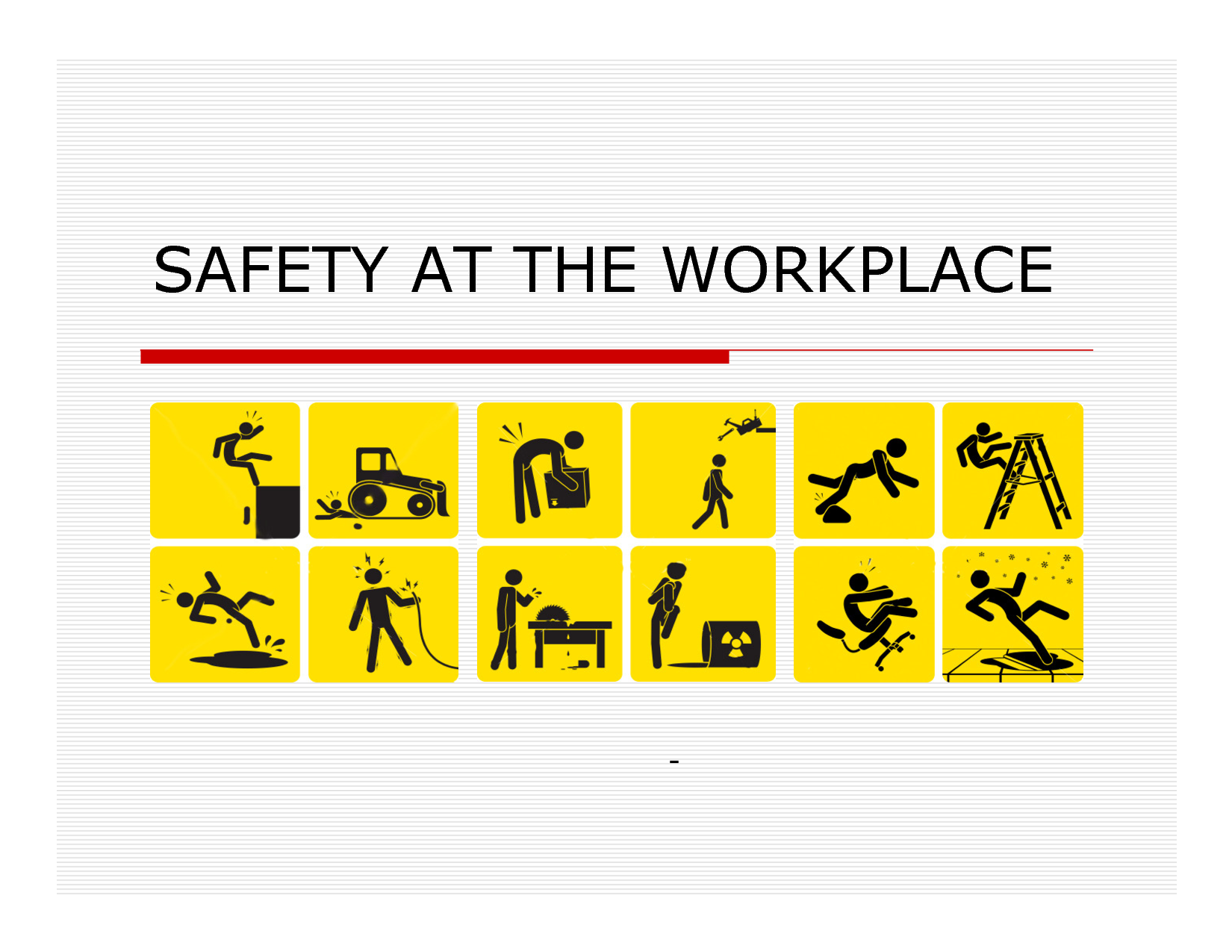 The importance of ladder safety and safe working environment for workers