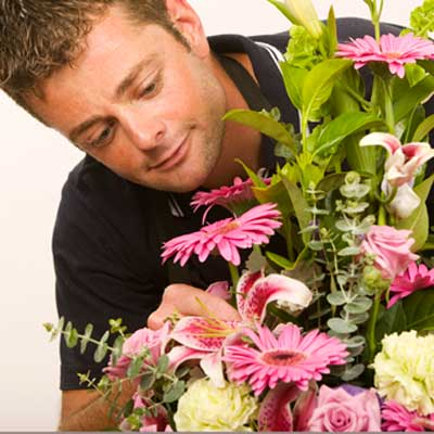 Flower Delivery Person