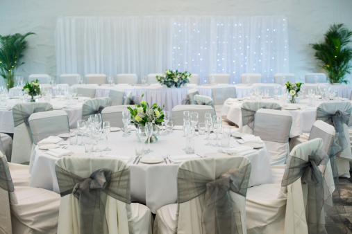 Seating arrangement for wedding