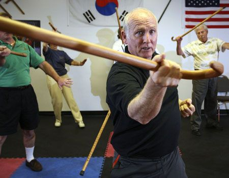 Self-Defence with a Cane