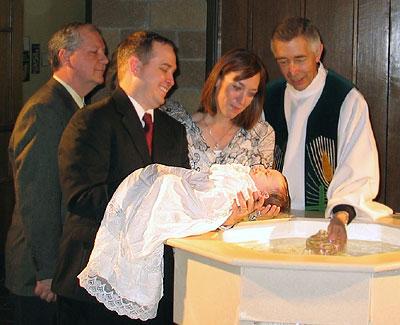 Baby's Baptism