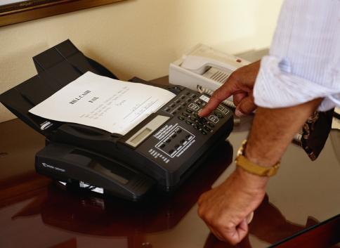 Fax Sensitive Information