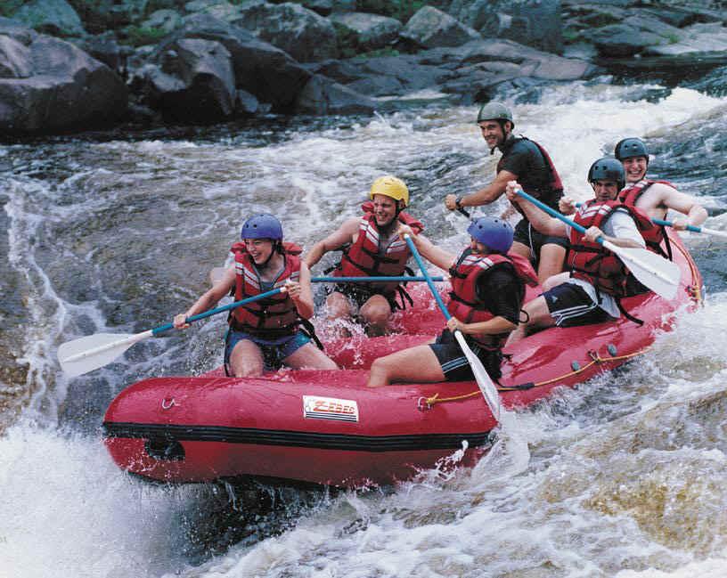 Ferry a Raft Across a River