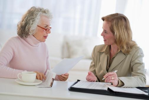 Senior Broker services for cash assistance