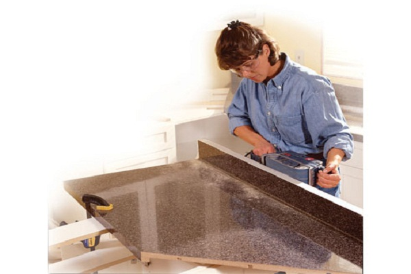 Install a Preformed Laminated Countertop