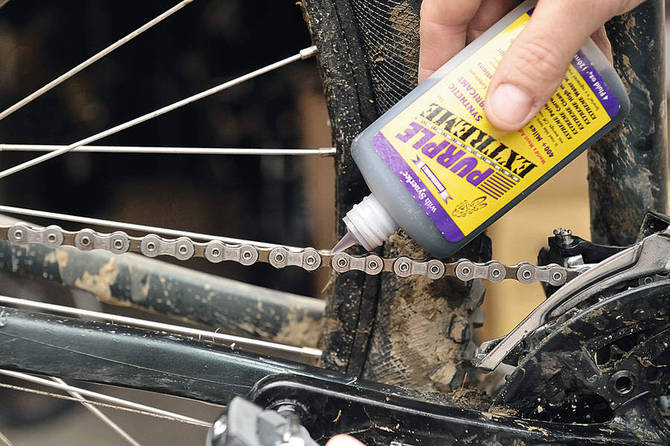 How to Lube your Bike Cycle