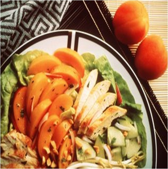 Fresh Apricot Thai Salad