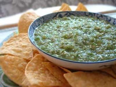 Mexican Tomatillo Salsa