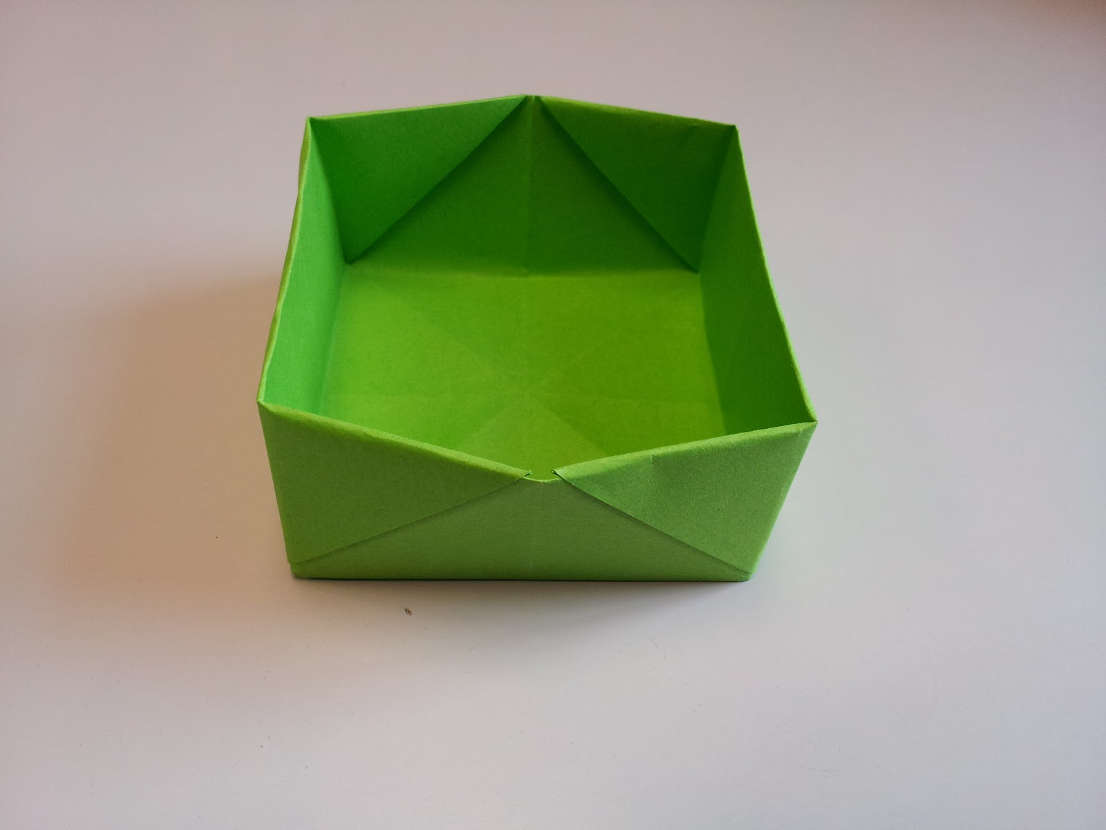 Easy Origami Box 28 Images Diy Square Gathering 3