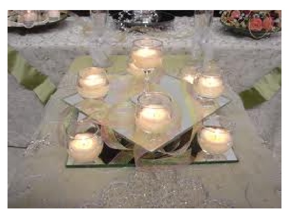 How to make a centerpiece without flowers