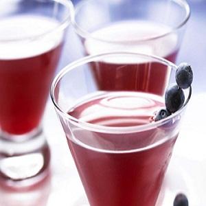 Cranberry Blueberry Cosmopolitan