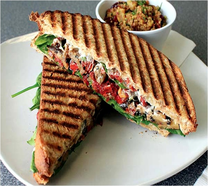 How to Make a Grilled Veggie Panini