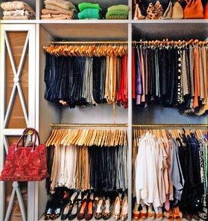 Closet organization ideas