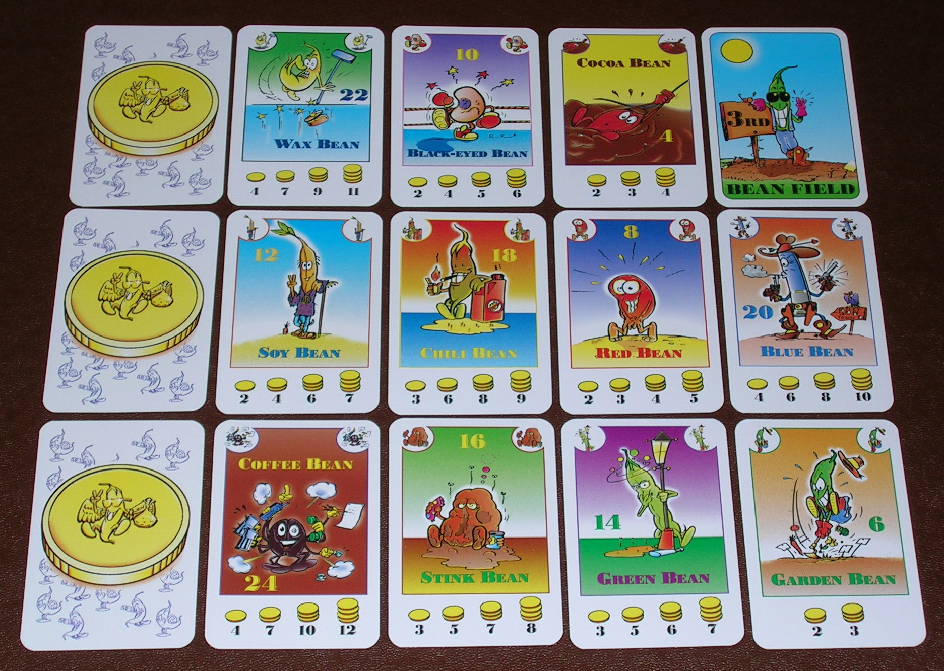 bohnanza cards