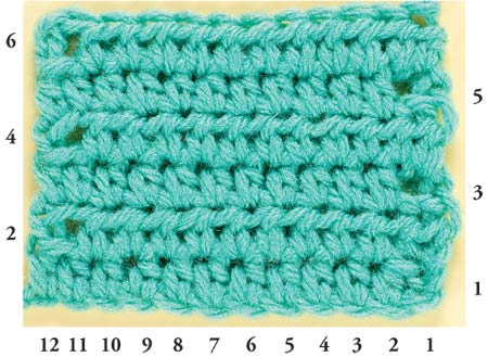 How to Stitch A Half Double Crochet