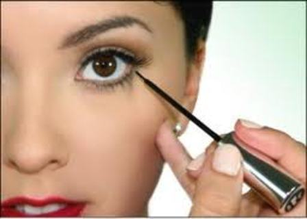 Wearing Liquid Eyeliner