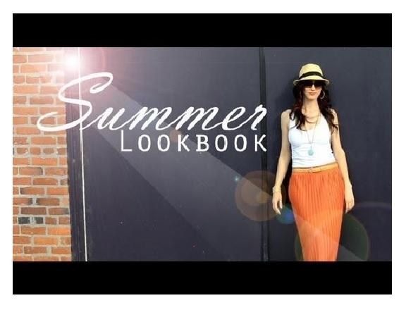 Summer look book