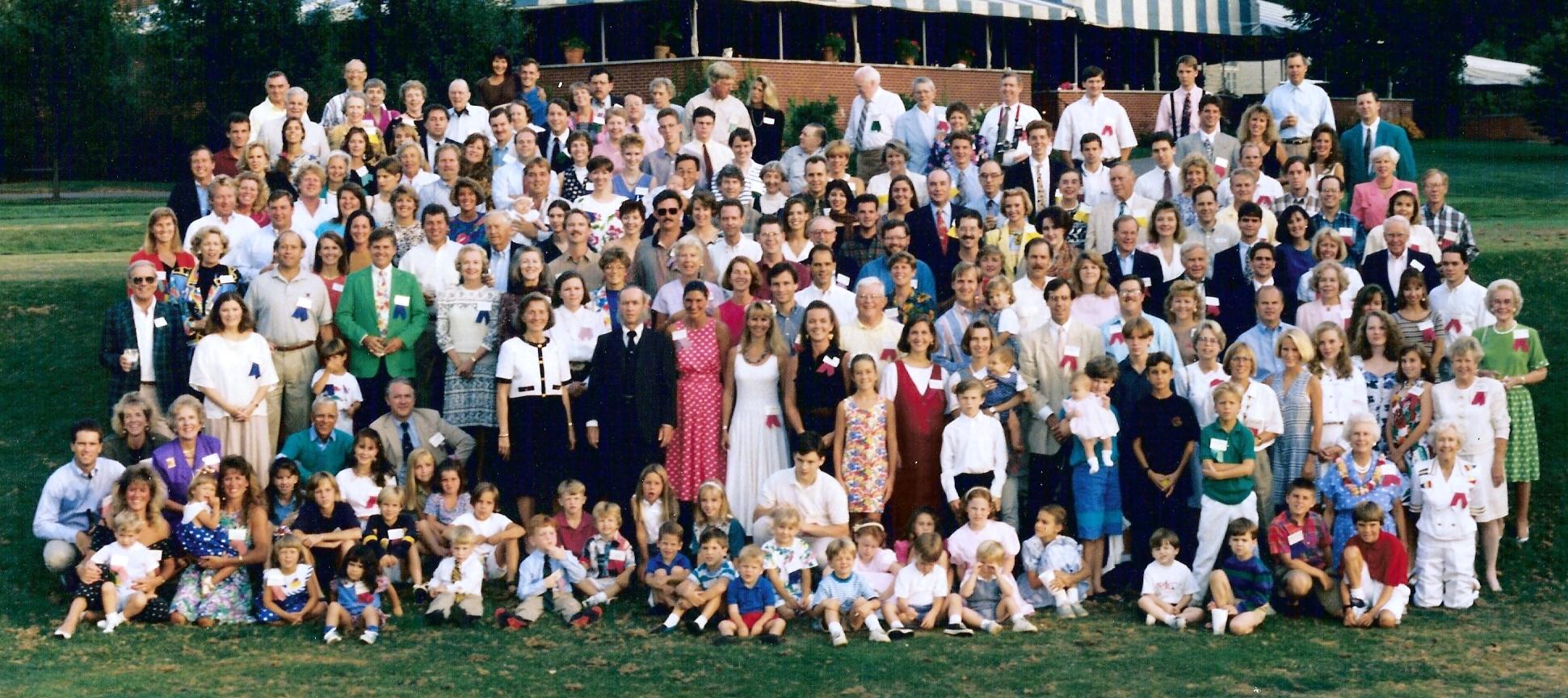 Large Family Reunion