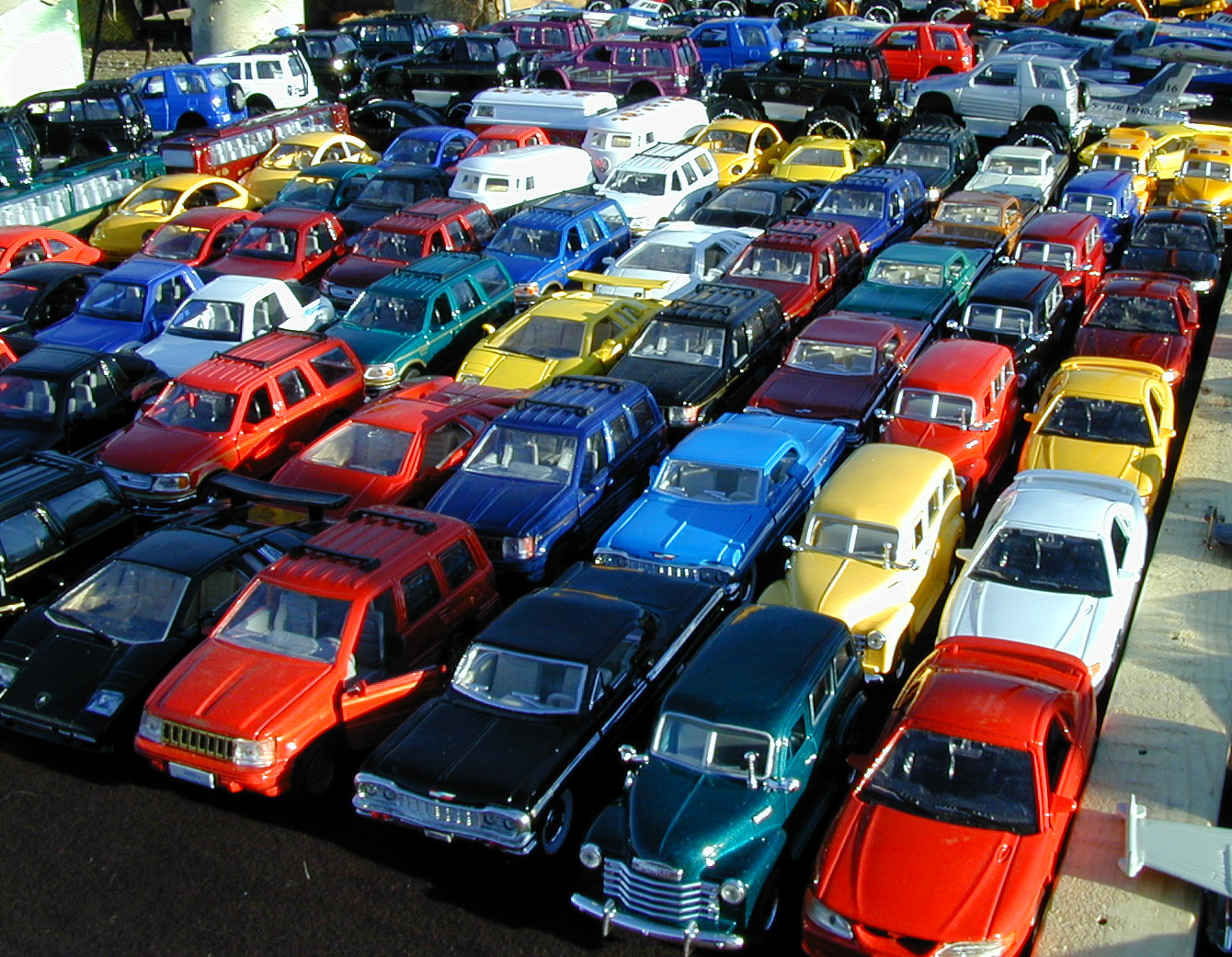Lots of Car Choices