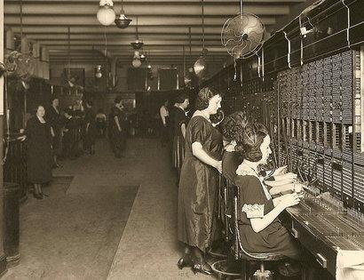 Phone Operators at Work