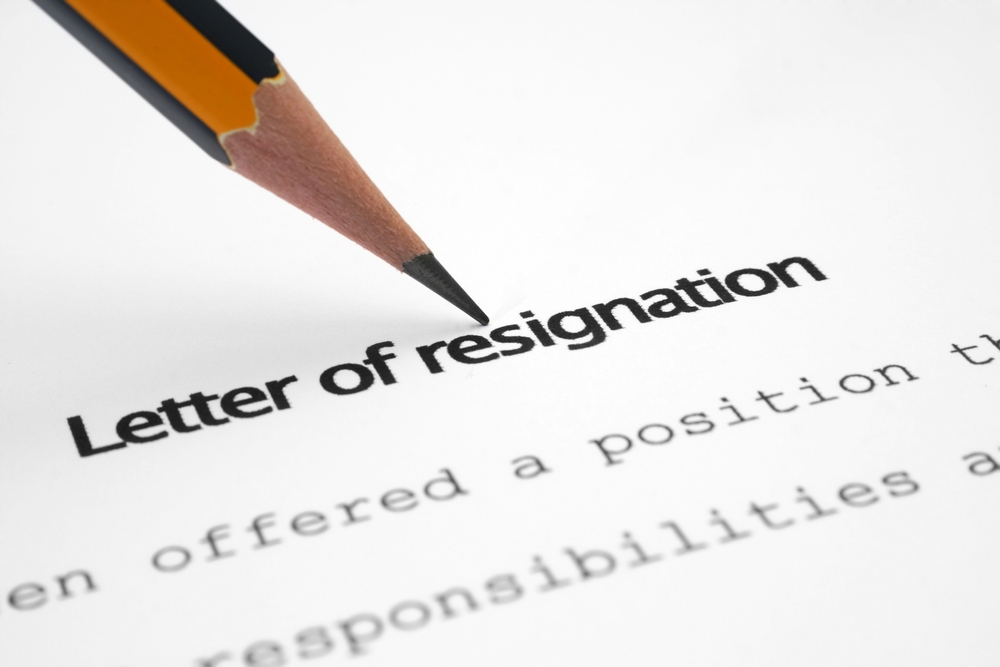 Resignation Email for IT Professional