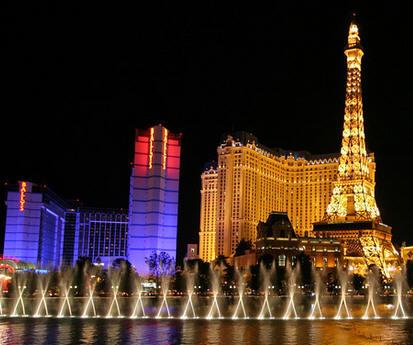 Beautiful hotel view