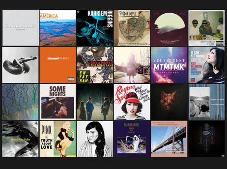 NPR Music's 50 Favorite Albums of 2012