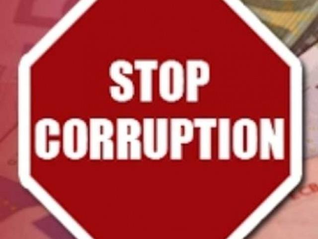 Anti corruption logo