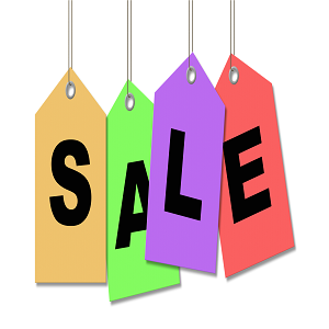 Things to buy on sale