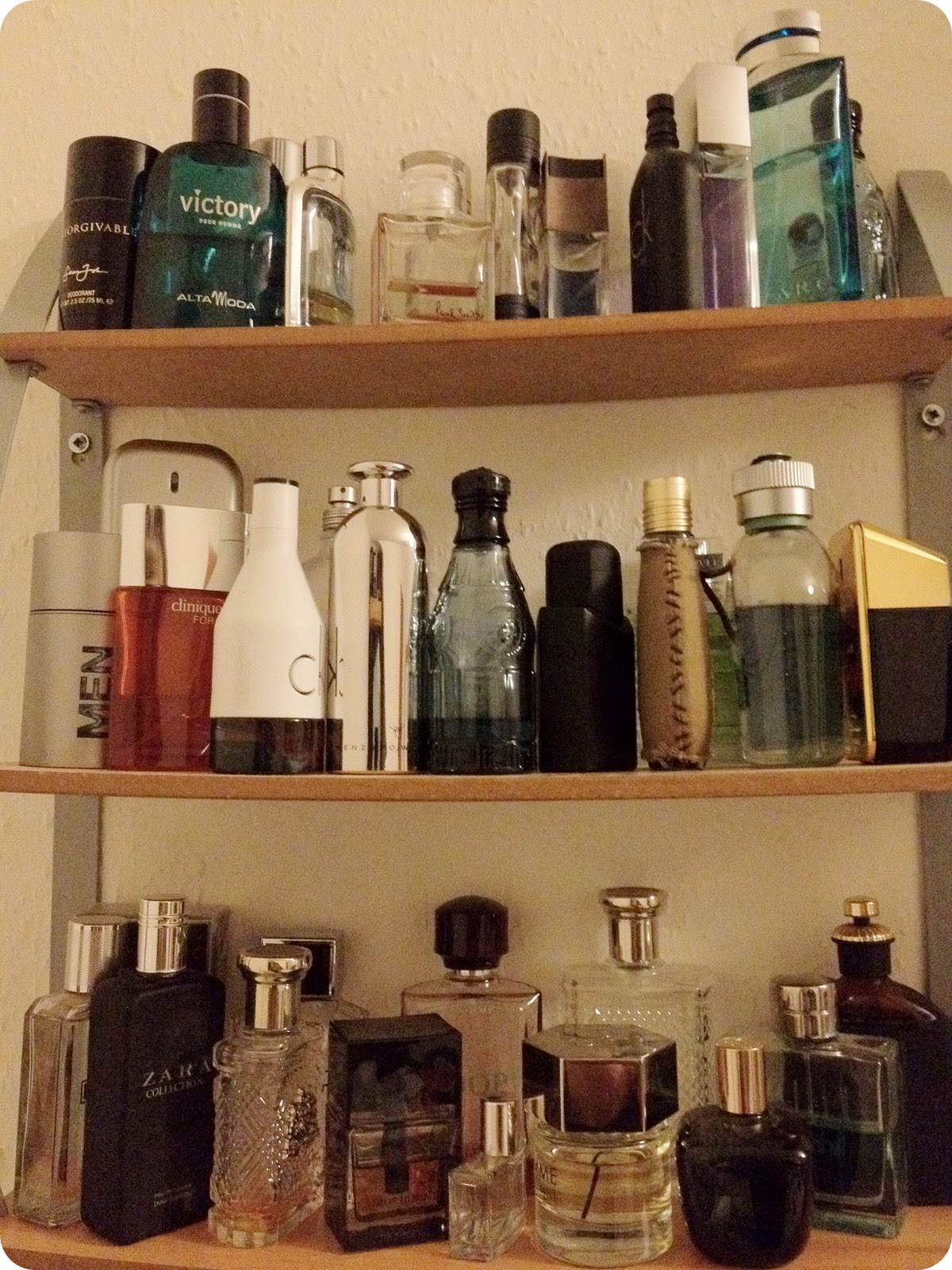 Various Aftershave Options