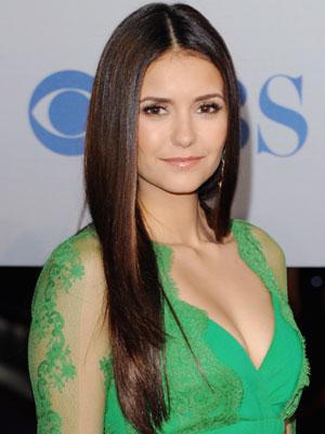 girl having beautiful straight hair