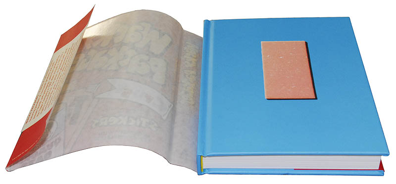how to make a book dust jacket