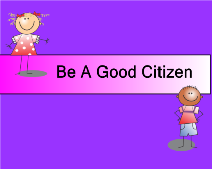 what makes a citizen a good citizen essays