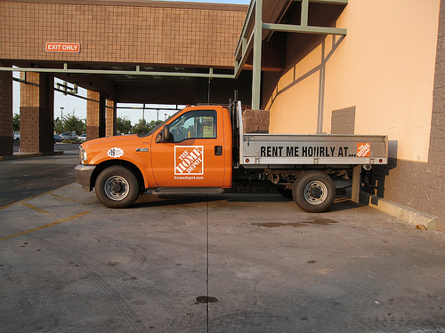 How to Rent a Truck from Home Depot