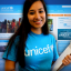 Volunteer Girl at UNICEF