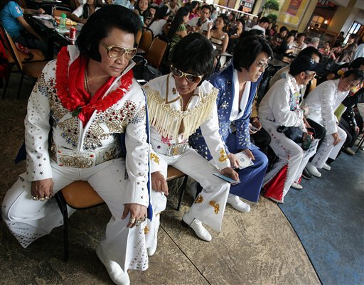 Philippines Elvis Impersonators