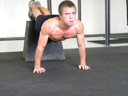 Decline Press Ups Decline Push Ups Muscles