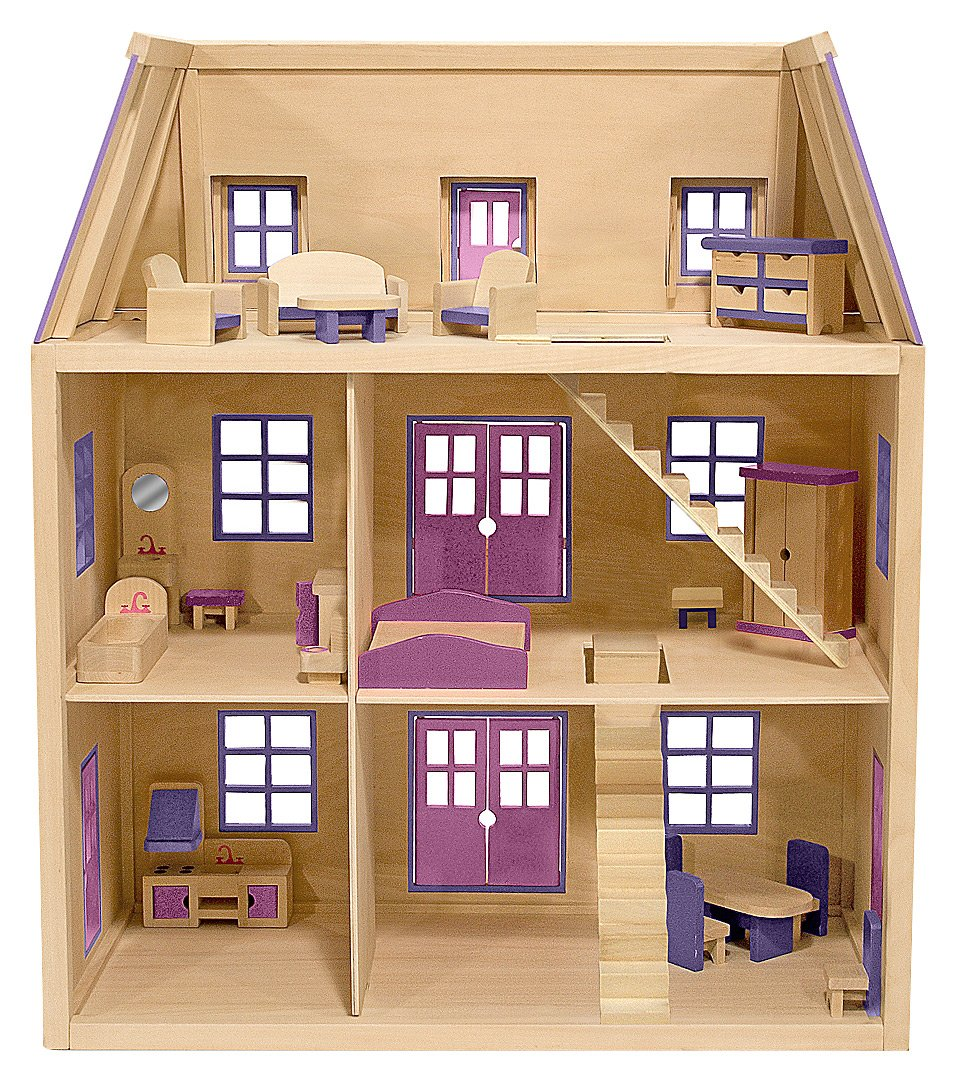 ... but now you can buy a ready-made dollhouse from any decent toy store