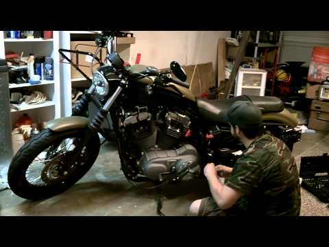 Changing a Harley-Davidson Battery