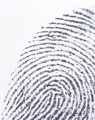 Fingerprint , close-up