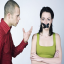 men and women arguing