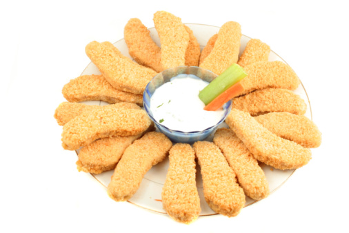 Crispy Chicken Strips Recipe