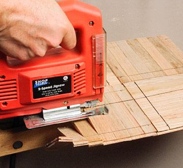 How to Cut Parquet Floor Tiles