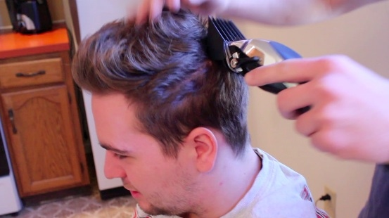 Cuting Boyfriend's Hair